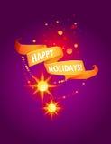 Nieuwe jaar en Kerstmisachtergrond stock afbeelding