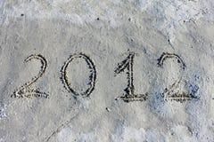 Nieuwe jaar, Kerstmis 2012 en dag des oordeels Royalty-vrije Stock Foto