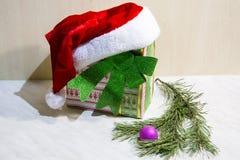Nieuwe jaar` s attributen royalty-vrije stock afbeelding