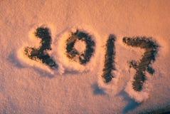 Nieuwe jaar` s groeten, Royalty-vrije Stock Afbeelding