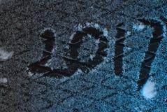 Nieuwe jaar` s groeten, Royalty-vrije Stock Foto
