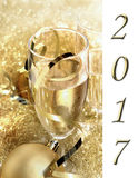 2017 Nieuwe jaar` s vooravond Royalty-vrije Stock Foto
