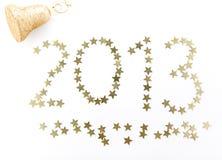 Nieuwe jaaraantallen Stock Foto's