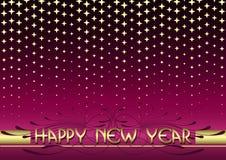 Nieuwe jaarachtergrond Stock Foto