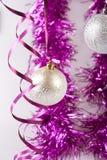 Nieuwe jaarballen Stock Afbeeldingen