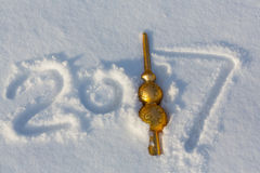 Nieuwe jaardatum Royalty-vrije Stock Afbeelding
