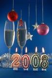 Nieuwe jaardecoratie stock foto