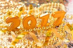 Nieuwe jaardecoratie Stock Fotografie
