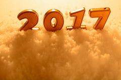 Nieuwe jaardecoratie Stock Foto's