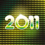 Nieuwe jaarkaart Stock Afbeelding