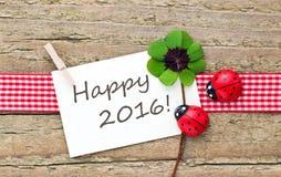 Nieuwe jaaruitnodiging Royalty-vrije Stock Fotografie