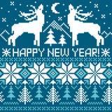 Nieuwe jaaruitnodiging Royalty-vrije Stock Afbeeldingen