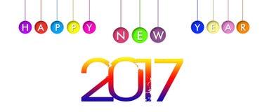 Nieuwe jaaruitnodiging Stock Fotografie