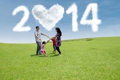 Nieuwe jaarviering Stock Foto