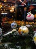 Nieuwe jaarviering in Moskou, decoratie in de GOMopslag royalty-vrije stock foto's