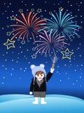 Nieuwe jaarvooravond Stock Afbeeldingen