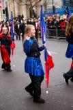 Nieuwe jarenparade Royalty-vrije Stock Afbeelding