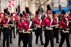 Nieuwe jarenparade Stock Fotografie