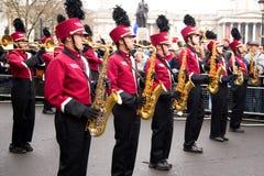 Nieuwe jarenparade Stock Foto's