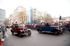 Nieuwe jarenparade Royalty-vrije Stock Foto