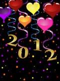 Nieuwe jarenvooravond 2012 Royalty-vrije Stock Afbeelding