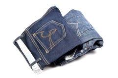 Nieuwe jeans stock afbeeldingen