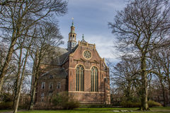 Nieuwe kerk church in the center of Groningen Stock Photos