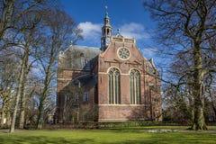 Nieuwe kerk church in the center of Groningen Stock Photography