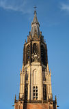 Nieuwe Kerk Clock Tower Royalty Free Stock Image