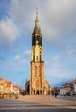 Nieuwe Kerk, Delft stock foto