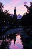 Nieuwe Kerk in Delft, Netherlands Royalty Free Stock Image