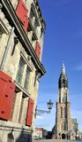 The Nieuwe Kerk in Delft Royalty Free Stock Photos