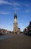 Nieuwe Kerk, delftfajans Royaltyfri Bild