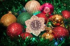Nieuwe Kerstavond Royalty-vrije Stock Afbeeldingen