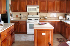 Nieuwe Keuken Stock Fotografie