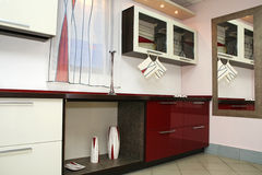 Nieuwe keuken Stock Foto