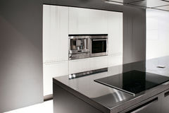 Nieuwe keuken Royalty-vrije Stock Afbeeldingen