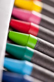 Nieuwe kleurpotloden Royalty-vrije Stock Foto's
