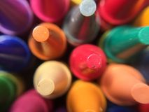Nieuwe kleurpotloden Royalty-vrije Stock Afbeeldingen