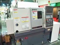 Nieuwe machine in Metalex 2014, de trots van ASEAN, Thailand Royalty-vrije Stock Foto