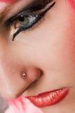 Nieuwe make-up royalty-vrije stock afbeelding