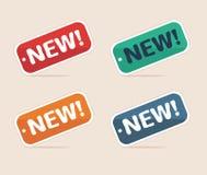 Nieuwe markering Stock Foto's