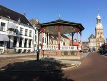 Nieuwe markt in Kampen Stock Photo