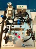 Nieuwe metende gasmachine in asiean metallex 2014 bitec, Bangkok Royalty-vrije Stock Afbeelding