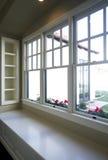 Nieuwe moderne huiswoonkamer Royalty-vrije Stock Foto