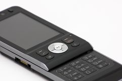 Nieuwe moderne mobiele telefoon Stock Foto
