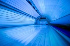 Nieuwe moderne zonnebank Stock Afbeeldingen