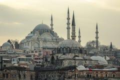 Nieuwe moskee stock foto's