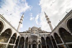 Nieuwe moskee in Fatih, Istanboel stock foto's