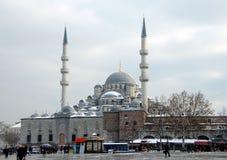 Nieuwe Moskee in Istanboel Royalty-vrije Stock Fotografie